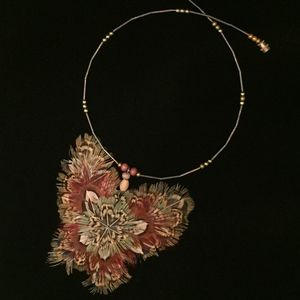Jewelry - Pheasant Feather Butterfly Necklace